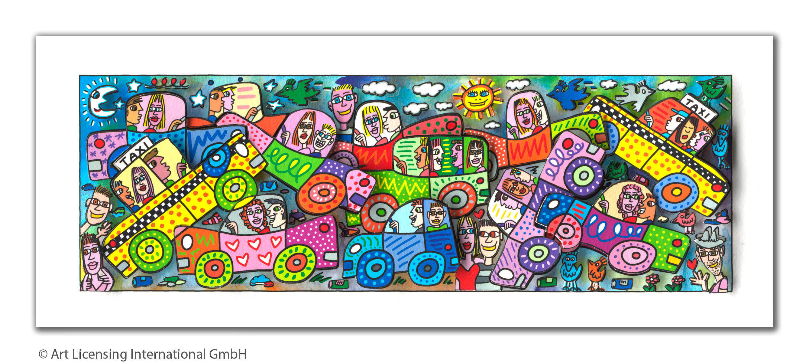 JAMES RIZZI JAMES RIZZI - MY BUSY CITY TRAFFIC JAM