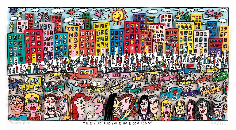 James Rizzi The Life and Love in Brooklyn
