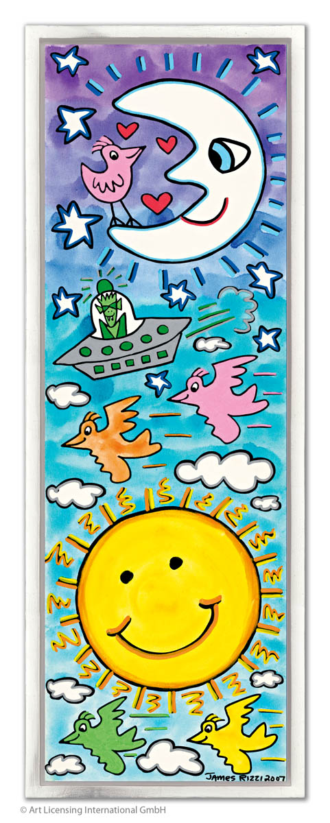 JAMES RIZZI JAMES RIZZI - THE SUN, THE MOON, THE STARS, LOVEBIRDS WITH ALL MY LOVE