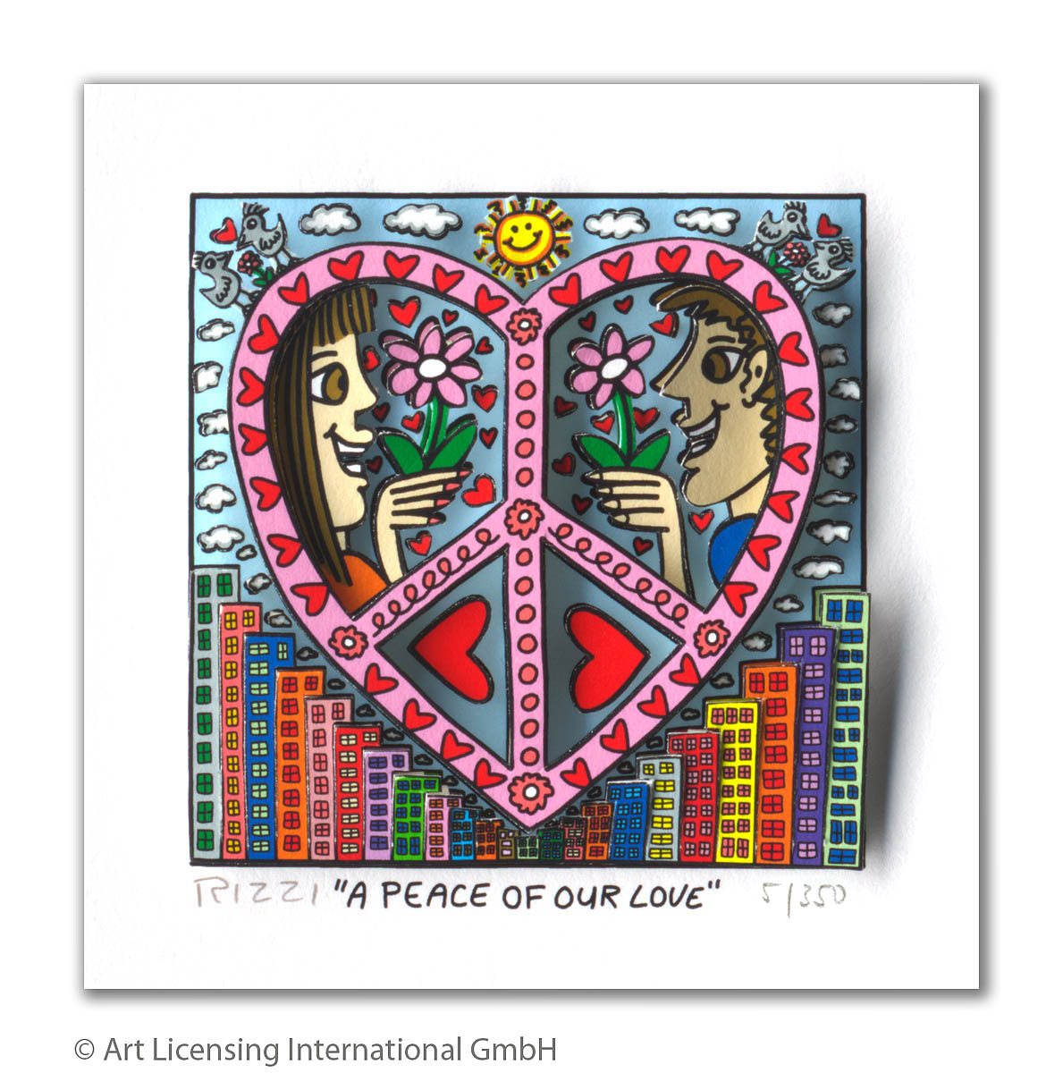James Rizzi A Peace of our Love